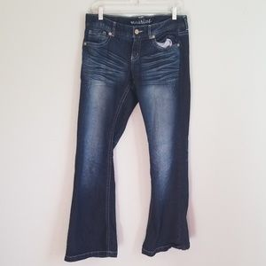 Very nice ladies Maurices jeans size 7/8 short
